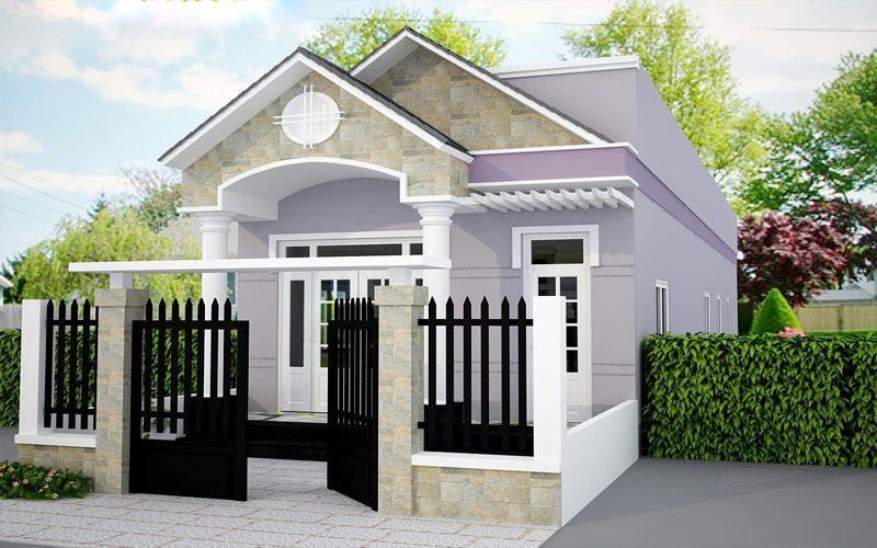 Những mẫu nhà cấp 4 'vạn người mê' chi phí xây dựng chỉ từ 300 triệu