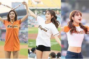 Vẻ đẹp nóng bỏng của dàn hoạt náo viên làng bóng chày xứ Hàn