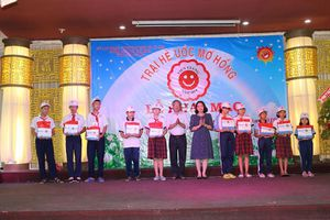 Tưng bừng Trại hè Ước mơ hồng tại Tiền Giang