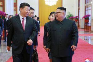 Nhà lãnh đạo Triều Tiên ra tận sân bay Bình Nhưỡng đón ông Tập Cận Bình