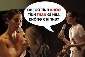 Màn 'chặt chém' bá đạo của Minh Dự, BB Trần dành cho Nam Thư tại buổi ra mắt phim
