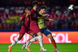 Nhọc nhằn vượt qua Qatar, Colombia giành vé vào tứ kết Copa America