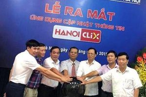 Ứng dụng Hanoi Clix chính thức ra mắt