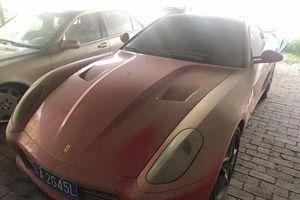 Siêu xe Ferrari 599 GTB bán phế liệu 250 USD tại Trung Quốc