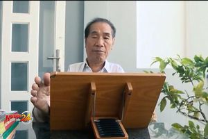 Thầy Nguyễn Ngọc Ký – tấm gương sáng ngời về nghị lực vượt lên số phận
