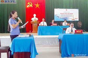 VKSND huyện Phú Vang tuyên truyền pháp luật thông qua phiên tòa giả định