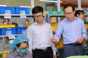 Tổng Giám đốc Samsung: 'Tôi đánh giá cao tiềm năng phát triển DN phụ trợ Việt'