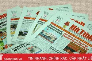 Báo chí Hà Tĩnh làm tươi mới đề tài xây dựng Đảng