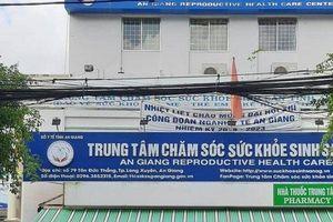 Giám đốc Trung tâm Chăm sóc sức khỏe sinh sản An Giang bị tống tiền bằng cảnh nóng