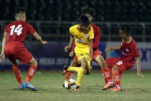 Chỉ cần ghi 1 bàn, U15 SHB Đà Nẵng đã vượt mặt U15 Tây Ninh