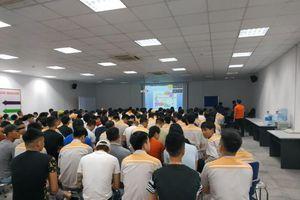 LĐLĐ huyện Gia Lâm tuyên truyền pháp luật cho công nhân