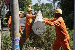 Điện lực miền Nam sẵn sàng cho các sự cố lưới điện do mưa bão