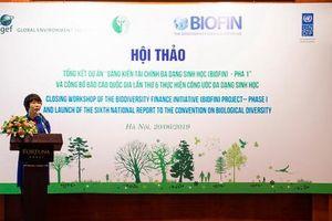 Tổng kết dự án 'Sáng kiến về tài chính đa dạng sinh học' (BIOFIN) pha 1