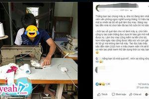 Sợ ế vợ thanh niên bỏ việc thành phố, lương hơn 10 triệu để về quê làm thợ may