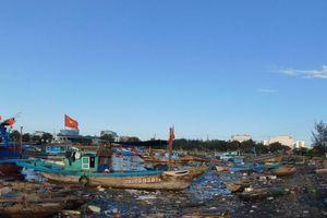 Âu thuyền Thọ Quang Đà Nẵng: Lại ngập đầy rác thải