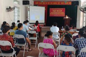 Bắc Giang tập huấn kỹ thuật chăn nuôi gà thịt lông màu năng suất, an toàn sinh học