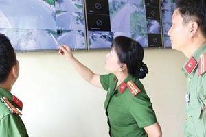 Nữ Trưởng Công an huyện đầu tiên của vùng đất sen hồng