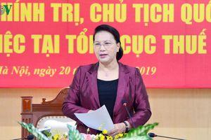 Chủ tịch Quốc hội làm việc với Tổng cục Thuế, Bộ Tài chính