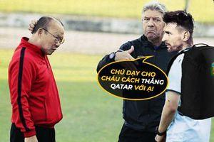 Biếm họa 24h: ĐT Argentina lâm nguy, Messi 'cầu cứu' HLV Park Hang Seo