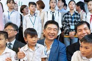 BAEMIN đồng hành cùng trẻ em nghèo Việt Nam