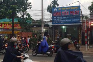 Khám xét nhà, công ty nghi can gọi Giang '36' vây công an ở Đồng Nai