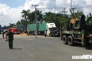 Khởi tố tài xế container gây tai nạn khiến 5 người thiệt mạng ở Tây Ninh