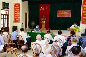 Bí thư Thành ủy Hoàng Trung Hải dự sinh hoạt chi bộ tại xã Trung Châu (Đan Phượng)