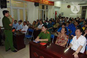 Vì sao cả trăm người dân Đồng Tâm háo hức dự tập huấn phòng chống cháy nổ?