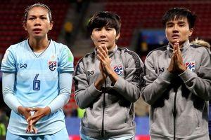 Tuyển Thái Lan trắng tay về nước sau vòng bảng World Cup nữ
