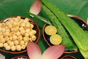 Cơm hấp lá sen và các món từ sen đượm hương mùa hè