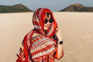 Mặc nắng nóng, tiểu sa mạc ở Quy Nhơn vẫn hút khách check-in