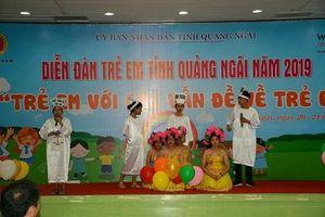 Diễn đàn trẻ em - nơi trẻ em lên tiếng