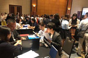 Doanh nghiệp và báo chí Nhật Bản khảo sát tại Hà Nội