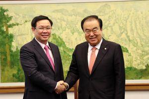 Việt Nam đề nghị Hàn Quốc tạo thuận lợi nhập khẩu mặt hàng nông, thủy sản