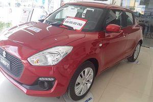 Suzuki Swift còn 449 triệu tại Việt Nam, rẻ hơn Honda Brio RS