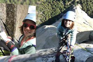 Bé gái 10 tuổi chinh phục vách núi dựng đứng cao 900m