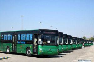 Trung Quốc tặng 100 xe buýt cho Syria