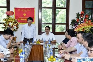 Thứ trưởng Ngoại giao Nguyễn Quốc Cường chúc mừng Báo Thế giới & Việt Nam