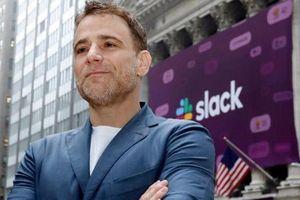 CEO Slack Stewart Butterfield trở thành tỷ phú sau thương vụ IPO 23 tỷ USD