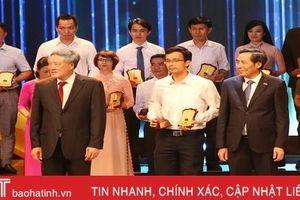 Báo Hà Tĩnh nhận giải C - Giải Báo chí quốc gia lần thứ XIII