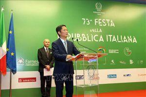 Việt Nam - Italy ký biên bản ghi nhớ về hợp tác trong lĩnh vực năng lượng