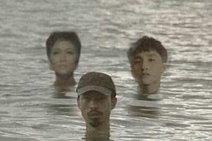 H'Hen Niê, Sơn Tùng M-TP bất ngờ bị dân mạng cho ngâm mình dưới nước cùng với Đen Vâu