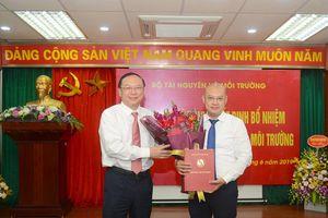 Nhà báo Hoàng Mạnh Hà giữ chức vụ Tổng Biên tập Báo Tài nguyên và Môi trường