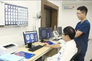 Việt Nam bắt đầu ứng dụng trí tuệ nhân tạo để chẩn đoán và điều trị đột quỵ
