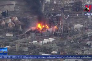 Nổ lớn tại nhà máy lọc khí ở Philadelphia
