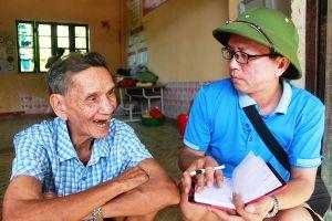 Nhà báo với huyện nghèo 30a