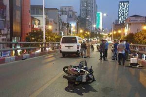 Hà Nội: Tai nạn giao thông trên cầu vượt Lê Văn Lương, 1 người tử vong