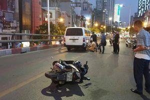 Danh tính thanh niên tử vong trên cầu vượt Lê Văn Lương sau va chạm với ôtô