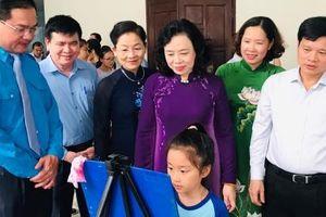 Phó Bí thư Thường trực Thành ủy Ngô Thị Thanh Hằng dự Ngày hội gia đình, chắp cánh ước mơ cho con