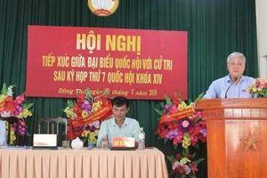 Bộ trưởng, Chủ nhiệm Đỗ Văn Chiến tiếp xúc cử tri tại tỉnh Tuyên Quang